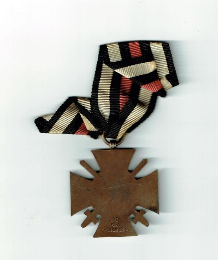 KH Medal Back