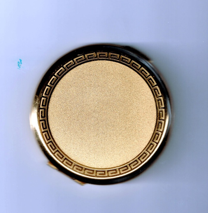Gold Compact Back