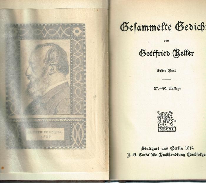 Gottfried Keller 9