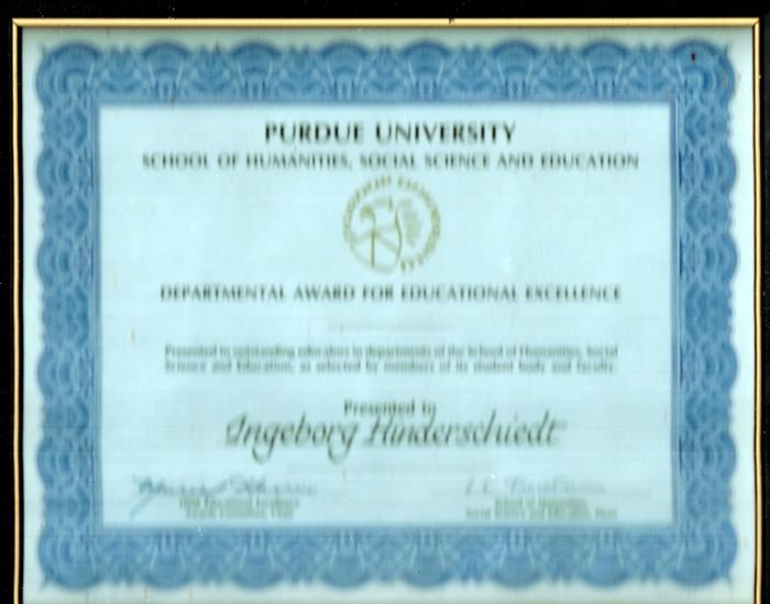 Purdue Award